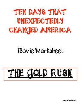 The Gold Rush Movie Guide
