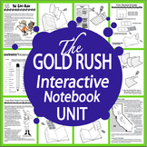 California Gold Rush Interactive Unit + George Custer & Sitting Bull Biographies