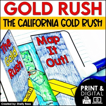 Gold Rush Interactive Notebook and Mini Unit