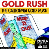 Gold Rush Interactive Notebook and Mini Unit - California