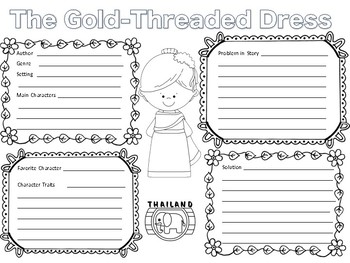 The Gold Threaded Dress Book Report