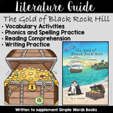 The Gold of Black Rock Hill Literature Guide: Simple Words