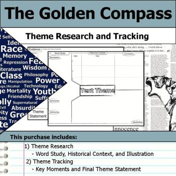 The Golden Compass - Theme Tracking Notes Etymology & Context Research