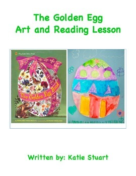 The Golden Egg Art and Reading Lesson