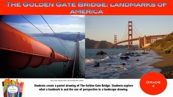 The Golden Gate Bridge:Exploring Perspective in Landscape Art
