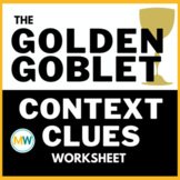 The Golden Goblet Novel Study - Context Clues
