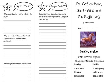 The Golden Mare The Firebird & the Magic Ring Trifold - Tr