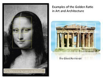 Golden Number and Fibonacci 3 PowerPoints, 2 Activity Guides