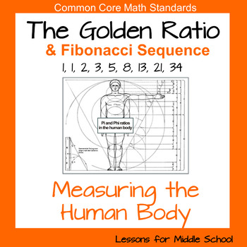 the golden ratio measuring the human body by lessons for middle school. Black Bedroom Furniture Sets. Home Design Ideas