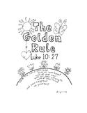 The Golden Rule Activity Booklet Luke 10:27