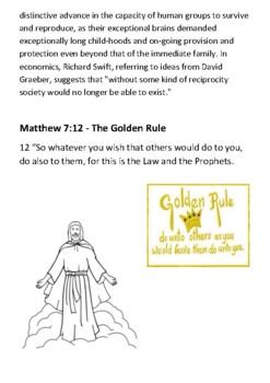 The Golden Rule Handout