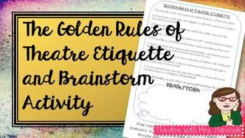The Golden Rules of Theatre Etiquette