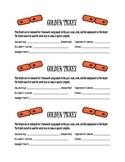 The Golden Ticket Homework Pass