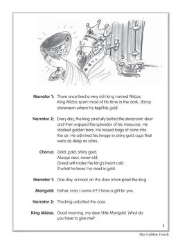The Golden Touch (Leveled Readers' Theater, Grade 4)