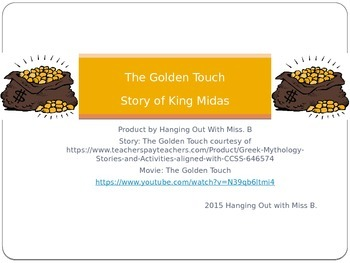 The Golden Touch: Story of King Midas