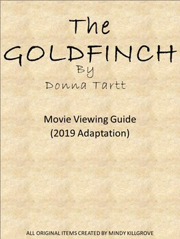 The Goldfinch Movie Viewing Guide