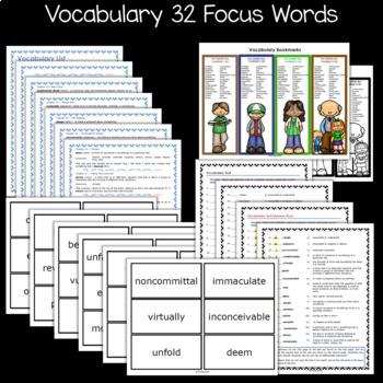 The Goldfish Boy Novel Study: vocabulary, comprehension, writing, skills