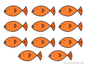 The Goldfish Game (Addition Dice Game) #sanddollardeals