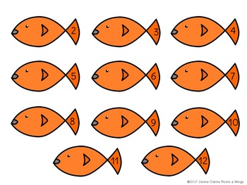 The Goldfish Game (Addition Dice Game)