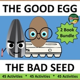 The Good Egg The Bad Seed Jory John 2 Book Bundle 45 Activ