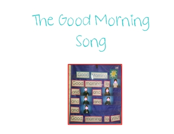 The Good Morning Song