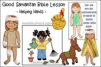 The Good Samaritan Bible Lesson For Children