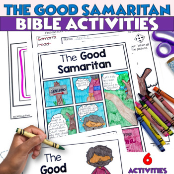 The Good Samaritan Booklet and Activities for Church or Sunday School