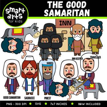 The Good Samaritan Clip Art