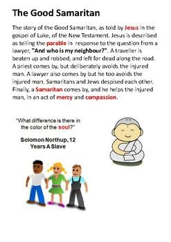 The Good Samaritan Handout