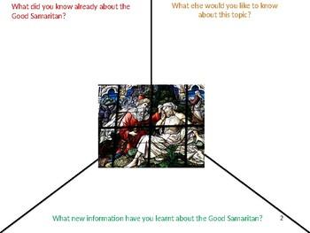 The Good Samaritan Lesson