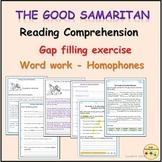 The Good Samaritan Worksheet Activities, Homophones Work,