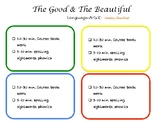 The Good and the Beautiful Level K Weekly schedule 4 day s