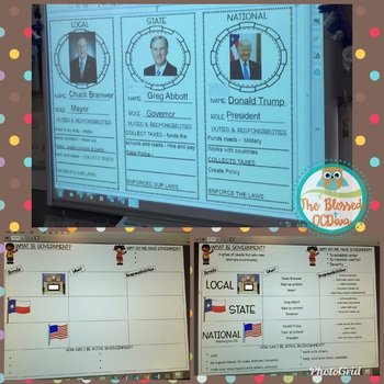 Levels of Government SMARTBOARD files