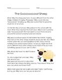 The Gooooood Sheep (Reading Comprehension)