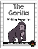 The Gorilla Writing Paper Set