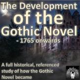 The Gothic Novel - The historical development, a study, 17