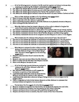The Graduate Film (1967) 15-Question Multiple Choice Quiz