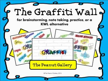 The Graffiti Wall (for Notes, Brainstorming, or a KWL Alternative)