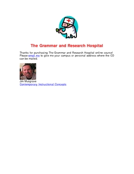 The Grammar and Research Hospital