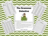 The Grammar Detective