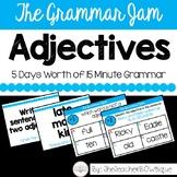 The Grammar Jam: Adjectives