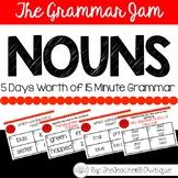 The Grammar Jam: Nouns