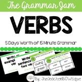 The Grammar Jam: Verbs