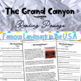 The Grand Canyon part of Landmarks in the USA Distance Learning
