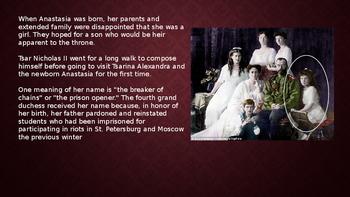 The Grand Duchess Anastasia