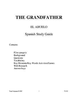 The Grandfather-Spanish Study Guide