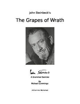 The Grapes of Wrath: Two Grammar Exercises