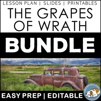 The Grapes of Wrath Activity Mini Bundle