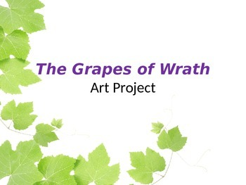 The Grapes of Wrath Art Project