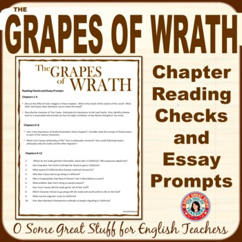 The Grapes of Wrath Essays - Words | Bartleby